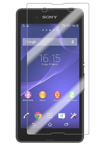 Sony Xperia E3 Kırılmaz Cam-Screen Guard